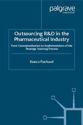 Outsourcing of R and D in the Pharmaceutical Industry cover