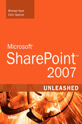 Microsoft SharePoint 2007 Unleashed cover