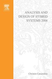 Analysis and Design of Hybrid Systems 2006 cover