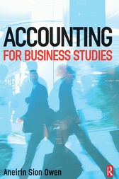 Accounting for Business Studies cover
