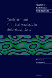 Conformal and Potential Analysis in Hele Shaw Cell cover