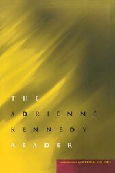 Adrienne Kennedy Reader cover