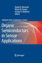 Organic Semiconductors in Sensor Applications cover