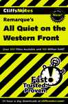 CliffsNotes on Remarque's All Quiet on the Western Front 694349