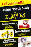 Business Start Up For Dummies Three e-book Bundle: Starting a Business For Dummies, Business Plans For Dummies, Understanding Business Accounting For Dummies