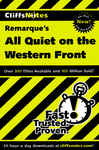 CliffsNotes on Remarque's All Quiet on the Western Front 1328744
